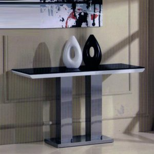 Console Tables Console Tables Black and White Contemporary  Console Tables ea18af6b8b832746bf0710048f91482a