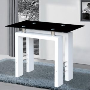 Console Tables console tables Black and White Contemporary  Console Tables metro console table white 300x300