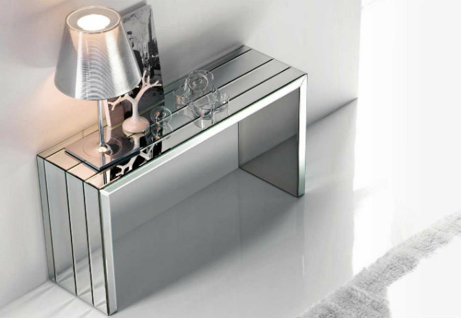 console table console tables Be Amazed by These Luxury Steel Modern Console Tables mirror modern console tables