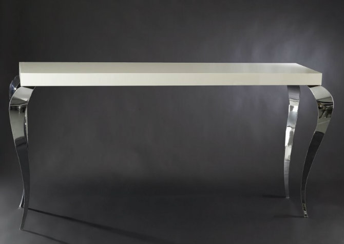 console table console tables Be Amazed by These Luxury Steel Modern Console Tables vg132