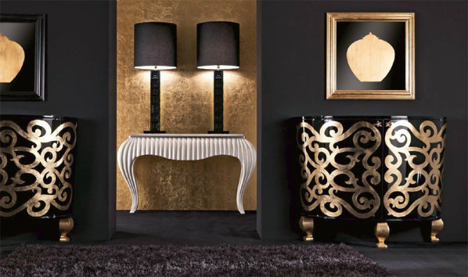 console table Console Table The Inspirations Behind a Modern Console Table 15f24 luxury classic unit