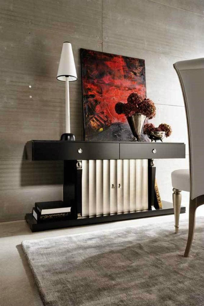 37 Console Table The Elegance and Class of a Modern Console Table 37