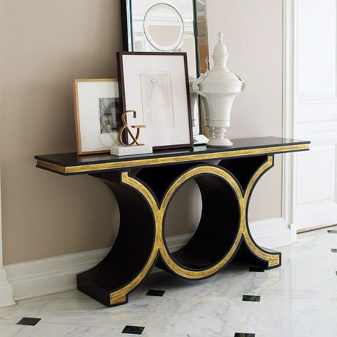 Console Tables Elegant Black Modern Console Tables 7 Black Console Table Ideas 11
