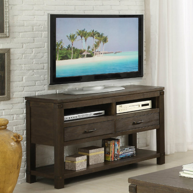 console table 5 Ways to Decorate your Living Room Console Table Black Console Table For Tv1