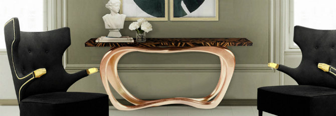 console table 5 Ways to Decorate your Living Room Console Table Infinity 4