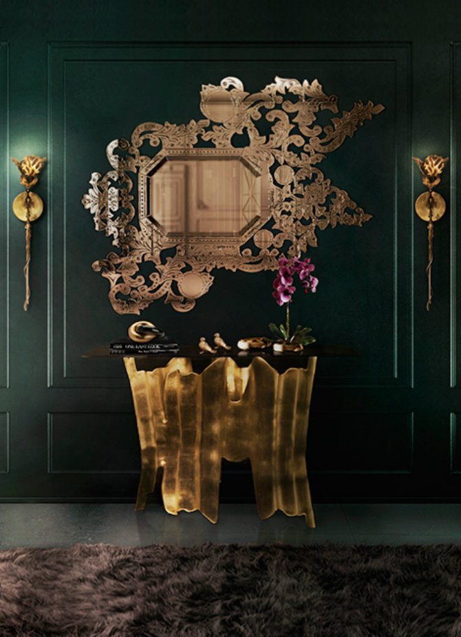 addicta-mirror-obssedia-console-flora-sconce-koket-projects Console Tables Top 5 Mirror Console Tables Designs addicta mirror obssedia console flora sconce koket projects