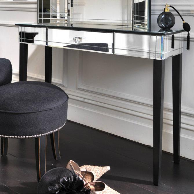 Console Tables Elegant Black Modern Console Tables art deco dt new