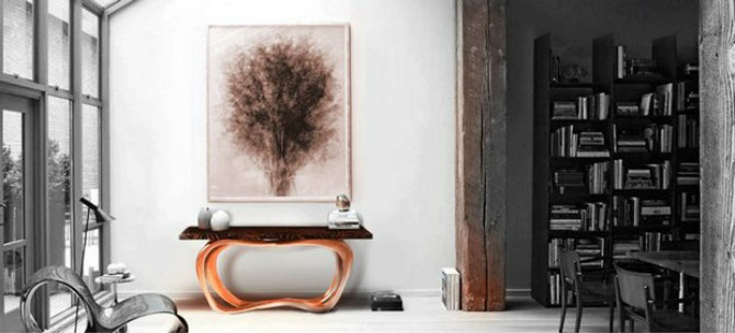 copper-inspirations-by-boca-do-lobo console tables Top 5 Console Tables by Boca do Lobo copper inspirations by boca do lobo