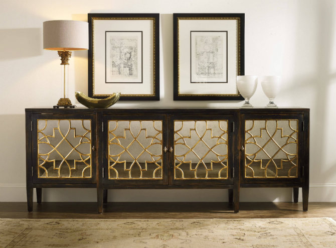 console table 5 Ways to Decorate your Living Room Console Table hooker furniture living room with awesome mirrored console table with cabinet complete with beautiful table lamp furniture images mirrored console table