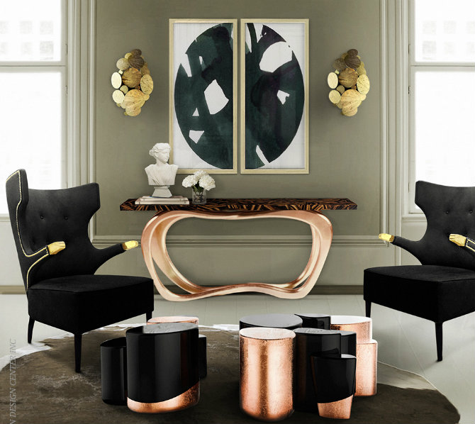 Console Table The Best of Modern Console Table Designs Infinity 4