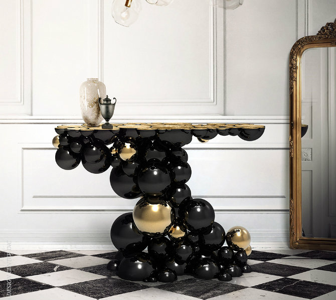 newton-console_3 Console Table The Best of Modern Console Table Designs Newton Console 3