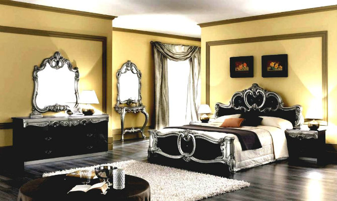 console tables console tables Modern Console Tables for a Luxury Bedroom bedroom interior designs of bedrooms luxury modern classic with black silver furniture console table mirror sets italian