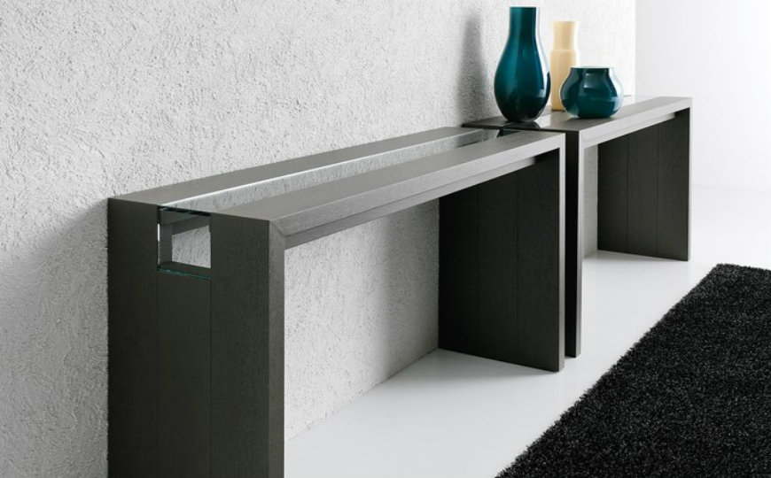 Italian modern console tables for luxury interiors - Moderne consoles ...