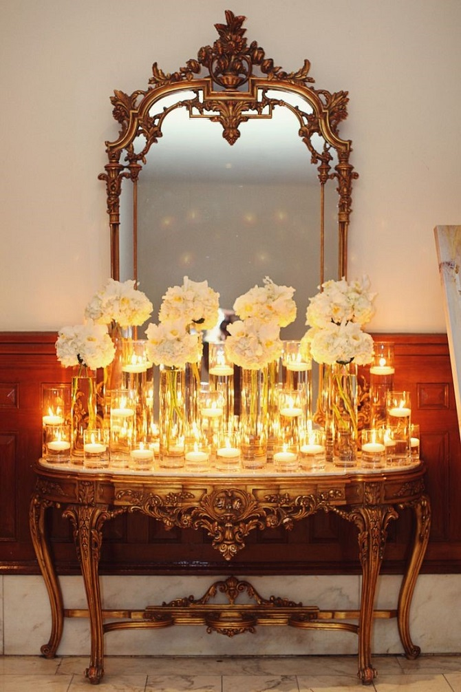 console tables Console Tables Modern Console Tables for a Perfect Wedding Décor welcome 3