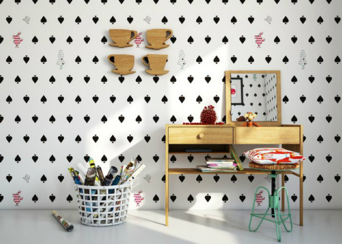 console tables Console Tables Modern Console Tables for Children Room whimsical kids room 600x428