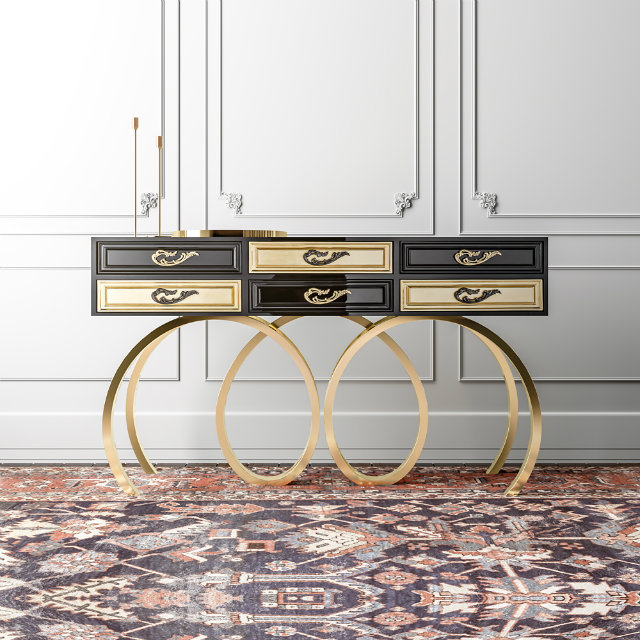 Console Table Best New Year Party Modern Console Table Black console 1