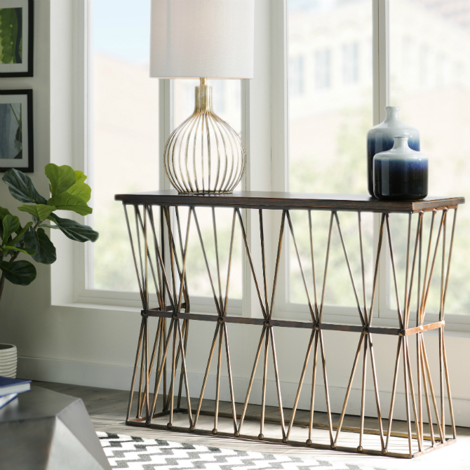 new trends New trends Modern Console Tables New Trends Minerva Console Table MCRR1726