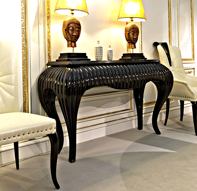 modern home modern home Best Modern Console Tables Designs for a Modern Home console 2013 black m