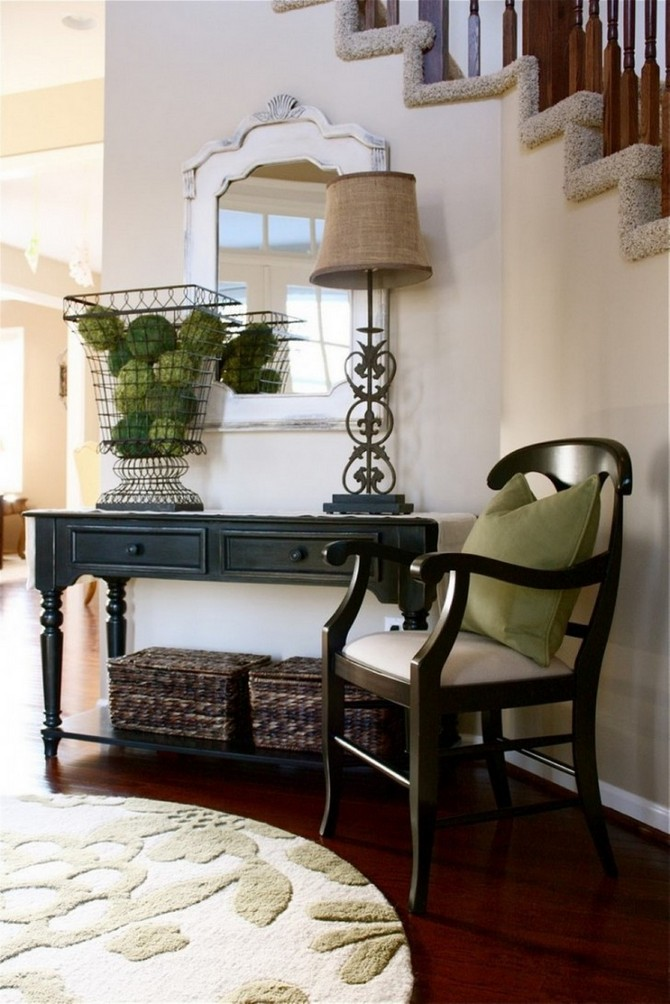 Emejing Foyer Table Decorating Ideas Photos Decorating Interior