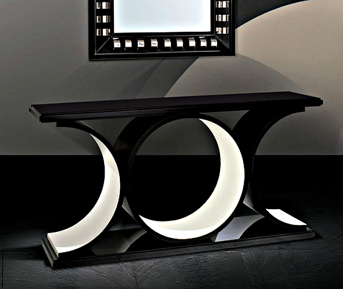 loop-console-table-m modern home Best Modern Console Tables Designs for a Modern Home loop console table m