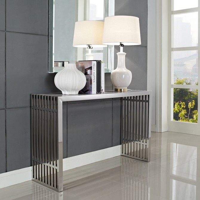 Contemporary Console Tables Contemporary Console Tables Best Entry Hall Contemporary Console Tables stainless steel metal tables