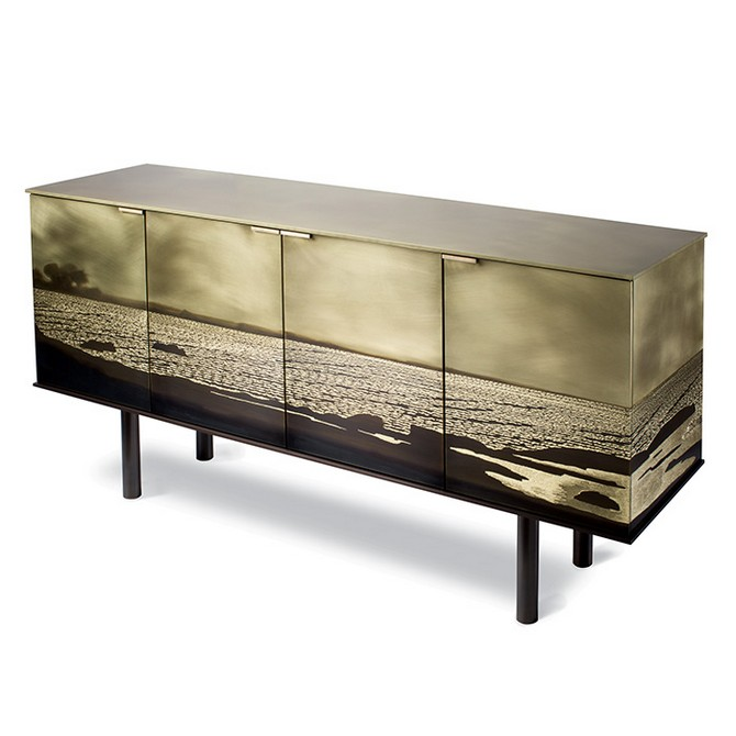 tuell-and-reynolds-mackerricher-cabinet brass and mirror modern console tables Best Brass and Mirror Modern Console Tables tuell and reynolds mackerricher cabinet