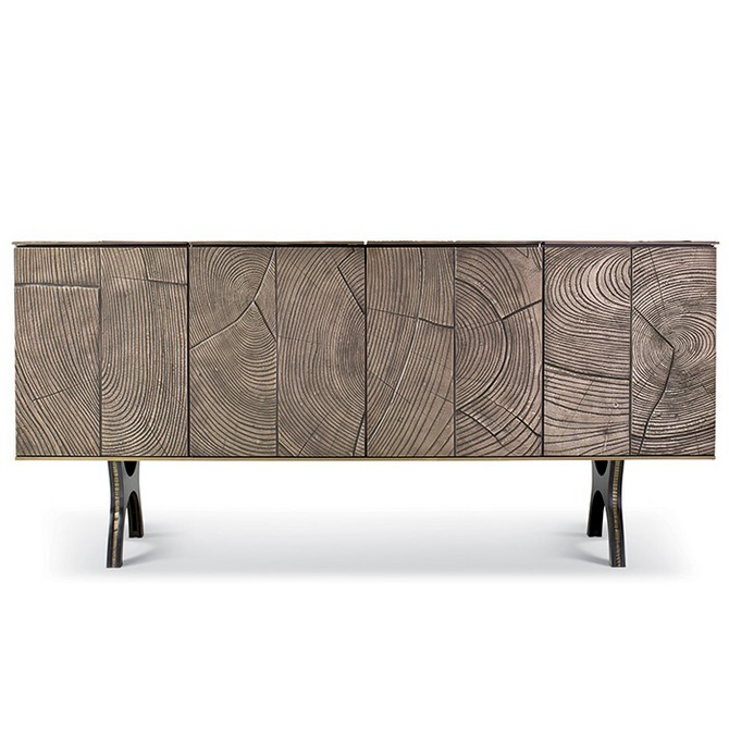 tuell-and-reynolds-muir-cabinet brass and mirror modern console tables Best Brass and Mirror Modern Console Tables tuell and reynolds muir cabinet
