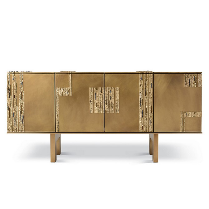 Brass and Mirror Modern Console Tables brass and mirror modern console tables Best Brass and Mirror Modern Console Tables tuell and reynolds strata cabinet