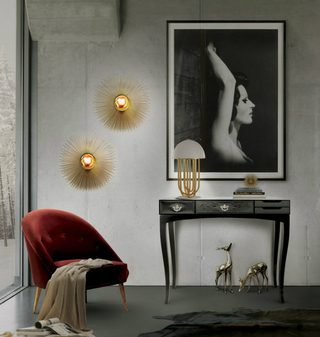 Console Table The simplicity of a Modern Console Table 7 Black Console Table Ideas 1