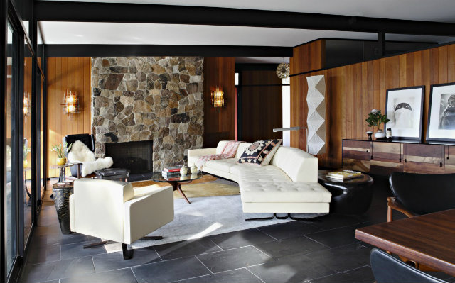 Console Table Design A Trip to The Modern Console Table Design La Canada Residence 3