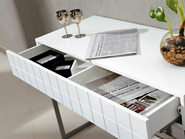 Console Tables The World of the Modern Console Tables Modern White Console Table