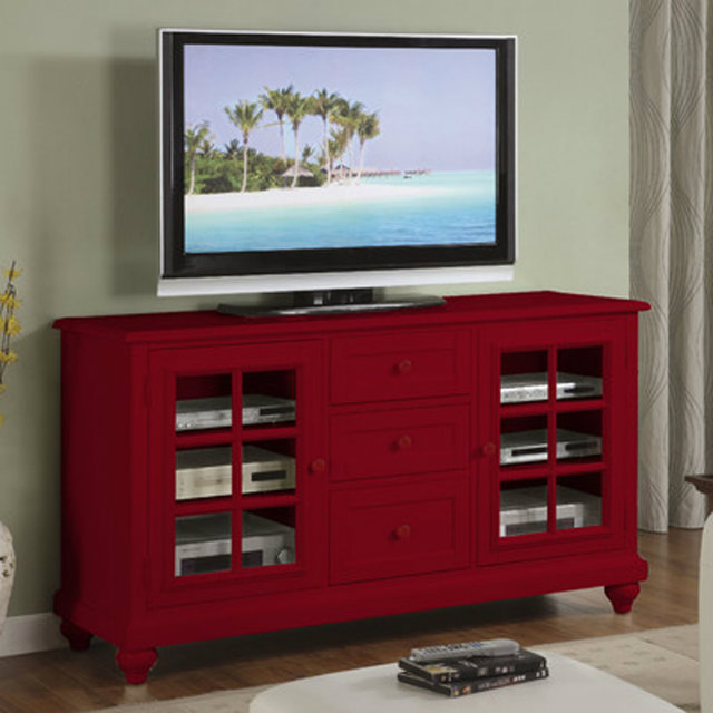 Console Tables Colorful Designs for Modern Console Tables Red TV Console Table