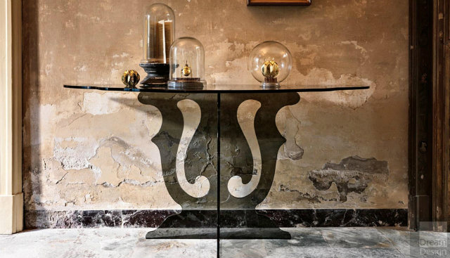 Console Tables The Natural Beauty of Modern Console Tables Veblen Venice 01