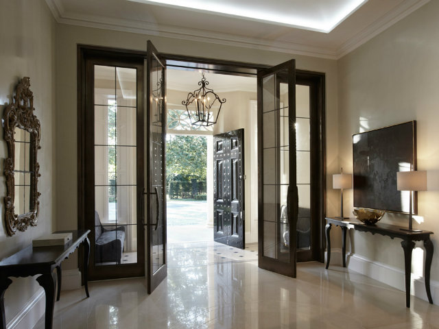 console tables Console Tables Welcoming Modern Console Tables for Your Entryway entry hall louisebradley