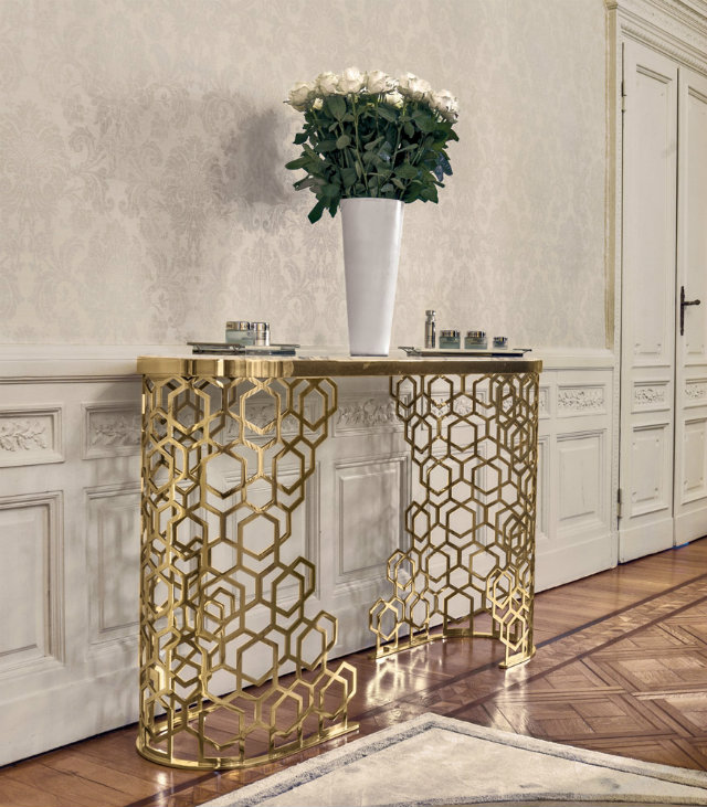 Console Tables Welcoming Modern Console Tables for Your Entryway lon manfred console 01