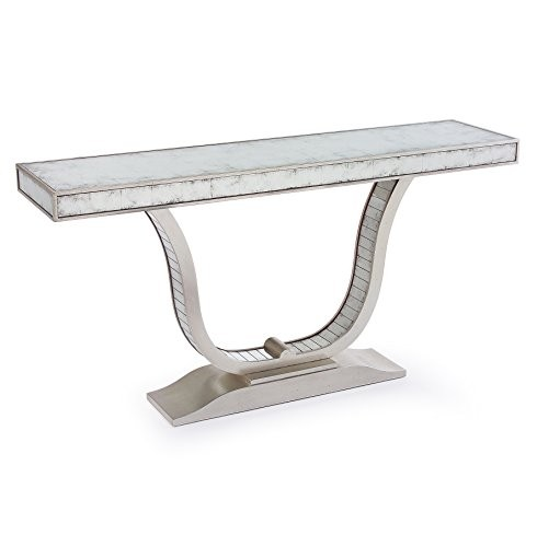 Console Tables Console Tables Super Houses With Super Console Tables malone hollywood regency u shaped silver leaf mirror console table