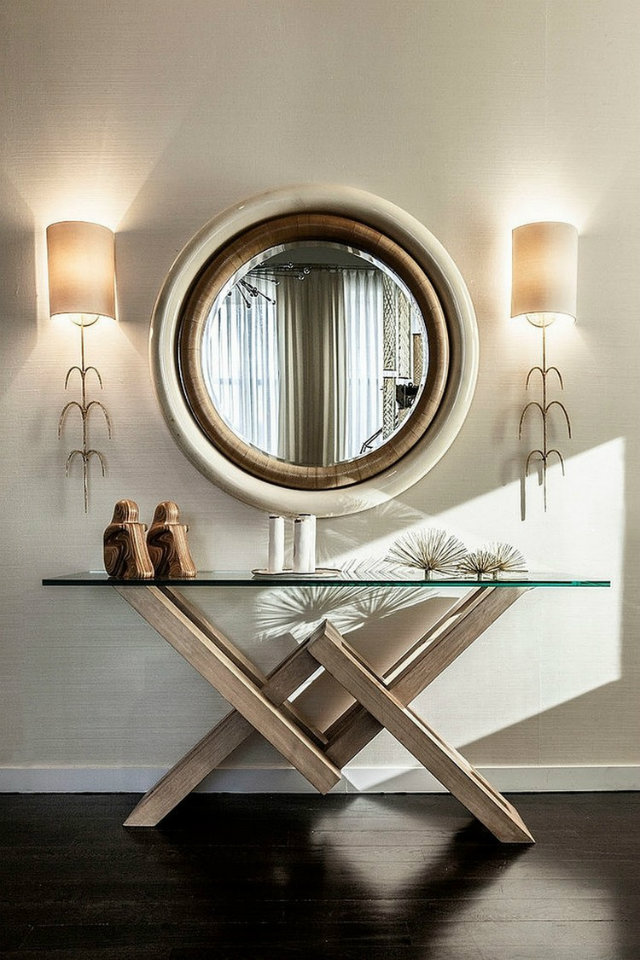 Console Table console table The Best Console Table Ideas for Your Living Room Living room decorating ideas modern console tables to have 2 1