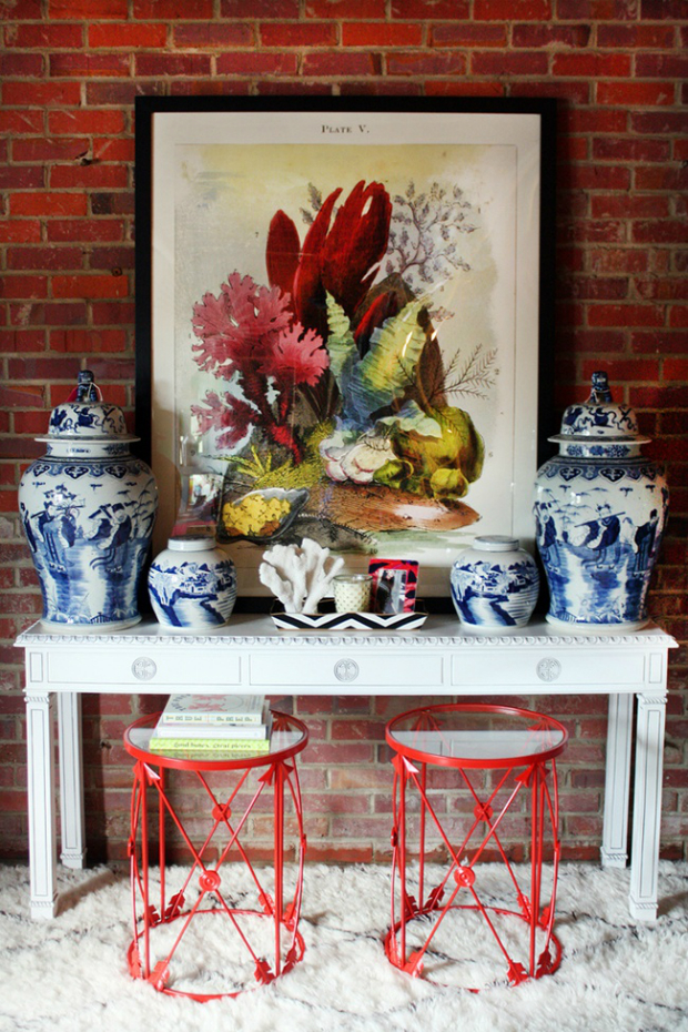 Console Table console table Discover How to Style a Modern Console Table a698022833b4c7371b67e4582e0a7d2d