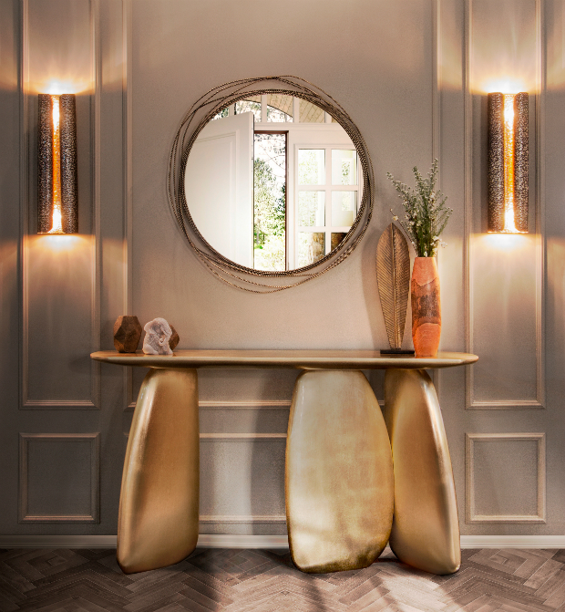 console table Discover How to Style a Modern Console Table brabbu ambience press 84 HR