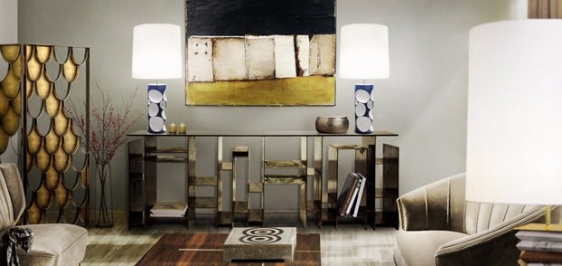 console table Modern Console Tables for your Living Room brabbu kyan1