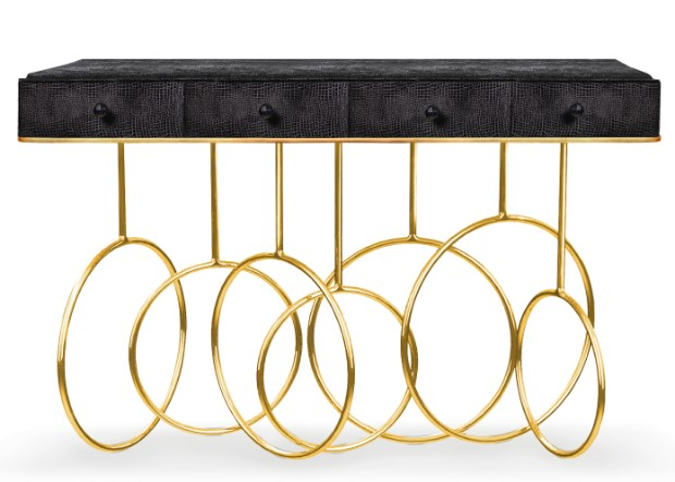 console table Most Expensive Console Tables Worldwide burlesque console 1