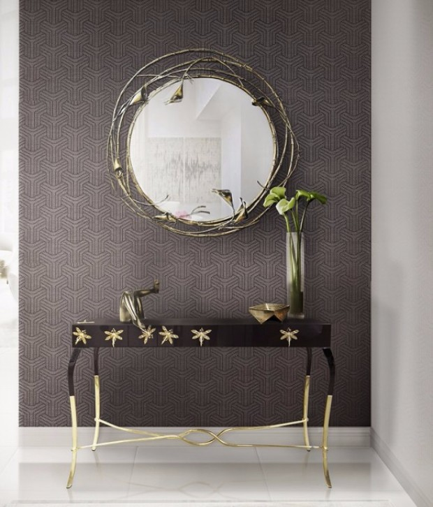 console table Modern Console Tables for your Living Room koket 1