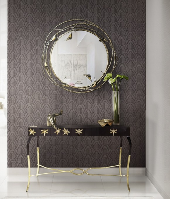 console table console table Discover the best Modern Console Tables for Hotels koket