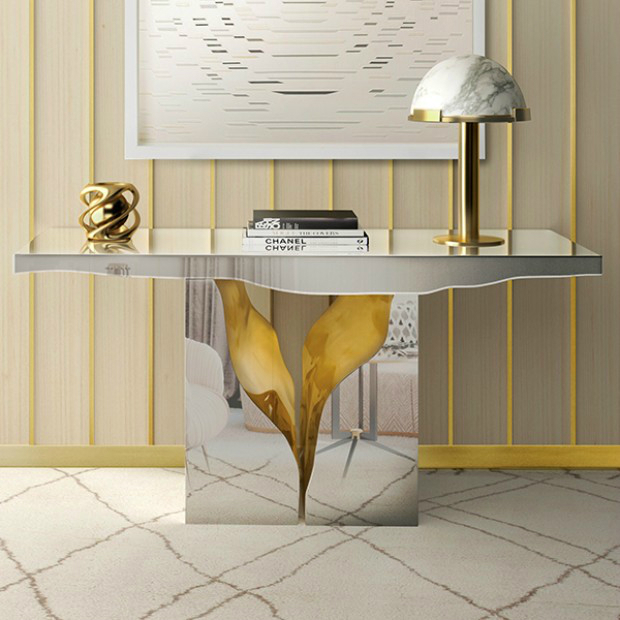 console table Get inspired with Striking Console Tables for your Entry Hall lapiaz environ 3