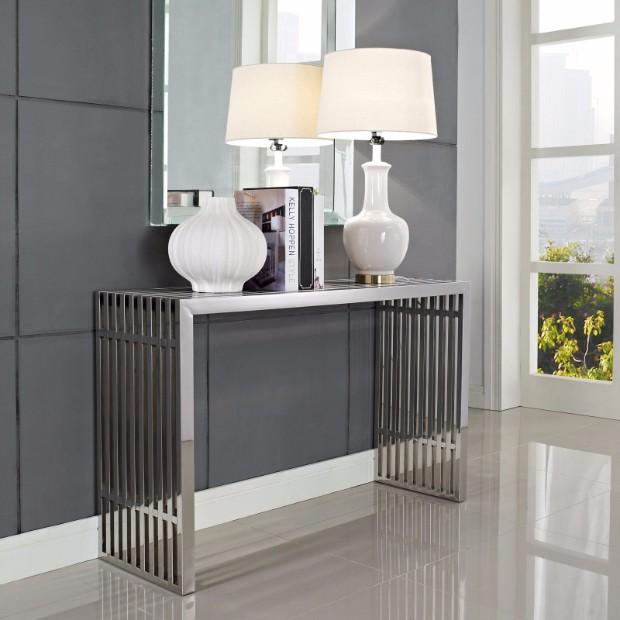 console table 10 Stylish Modern Console Tables modern console tables ideas 2