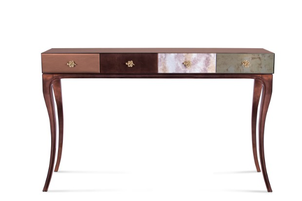 console table 10 Stylish Modern Console Tables untamed console 1