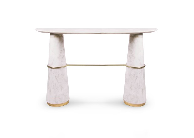 console table The Best Modern Console Tables At ICFF 2017 agra console 1 HR