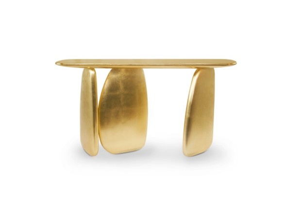 console tables Luxurious Golden Modern Console Tables ardara console 1 HR 2