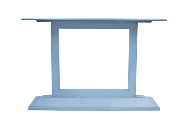 console table 10 Edgy Modern Console Tables blue