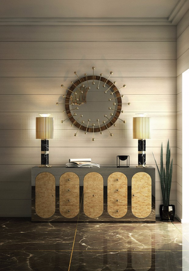 console tables 10 Exquisite Modern Console Table Designs claire casegoods essential home ambiente 01 1